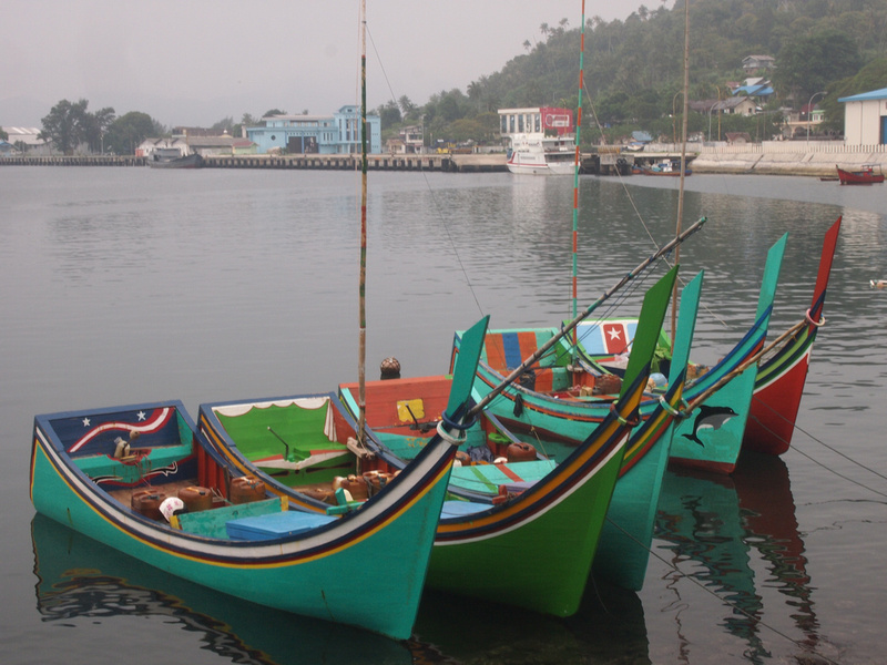 Fishing Boats, Sabang - Indonesia