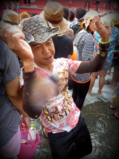 Songkran Chiang Mai - Dancing man