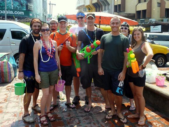 Songkran Chiang Mai - Songkran gang