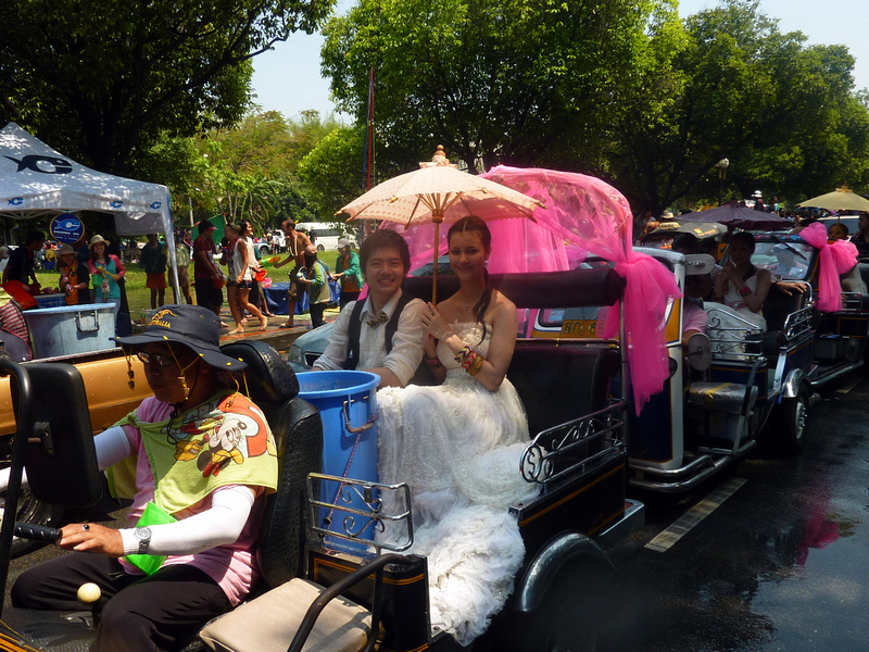 Songkran Chiang Mai - Songkran wedding