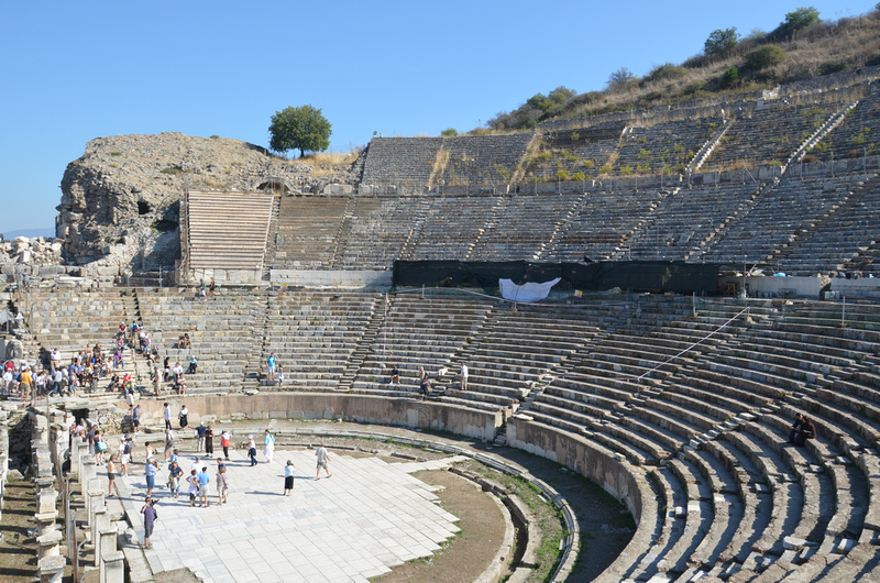 The Great Theatre of Ephesus, Turkey