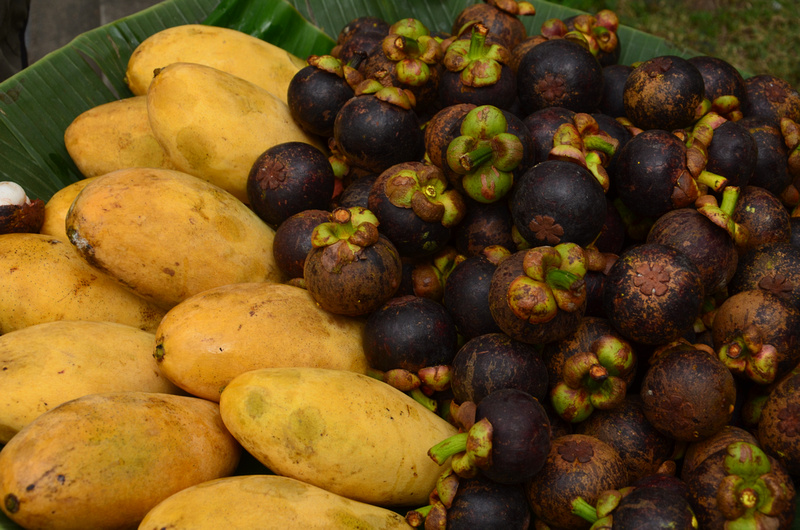 mangos and mangosteens