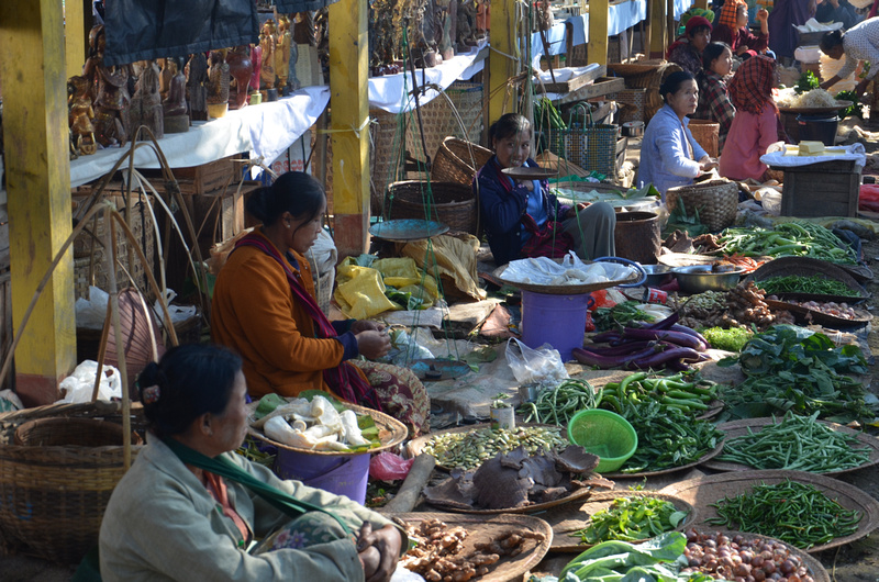 Village food market