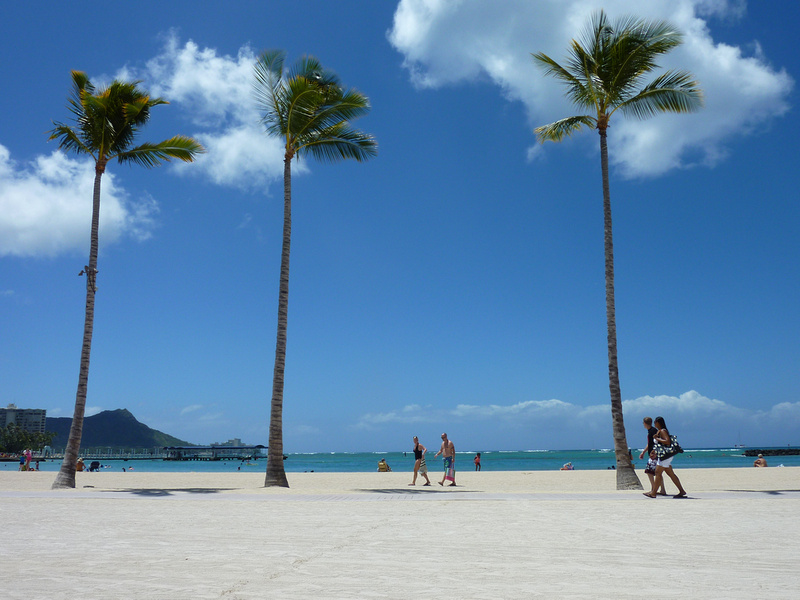 Waikiki Beach, Honolulu – USA