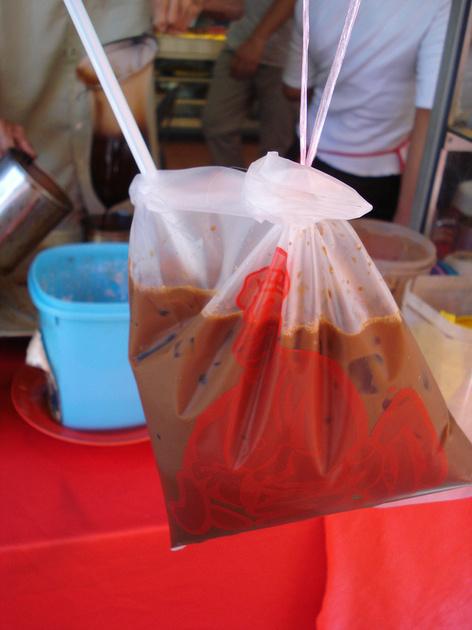 Iced coffee in a bag: Kuala Lumpur