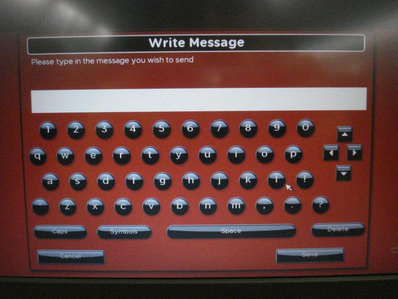Write message