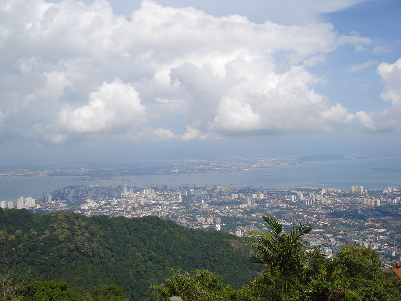 Penang Hill view: Penang Hill