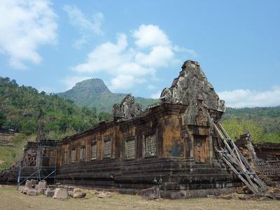 Ruins of Wat Phu Champasak [Laos]