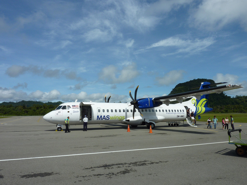 MASwings ATR 72-500 at Mulu Airport