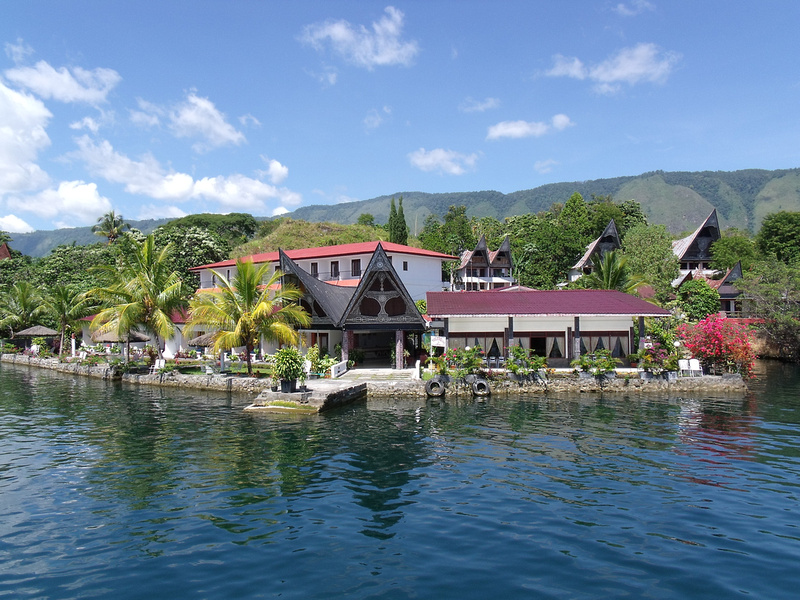 Lakeside accommodation: Tuk-Tuk - Sumatra