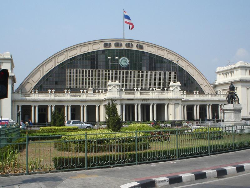 Hua Lamphong Train Station, Bangkok - Thailand.
