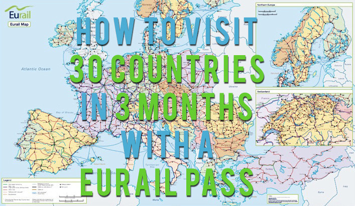 Visit every country with a Eurail Pass