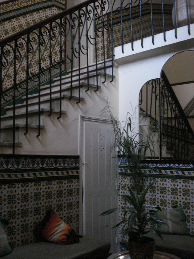 Hotel Biarritz Stairs