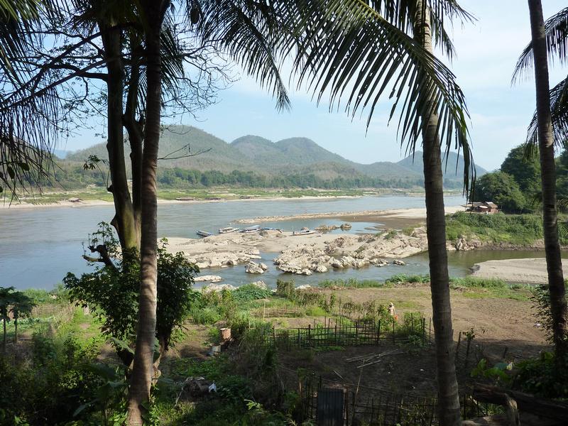 Mekong and Nam Khan rivers
