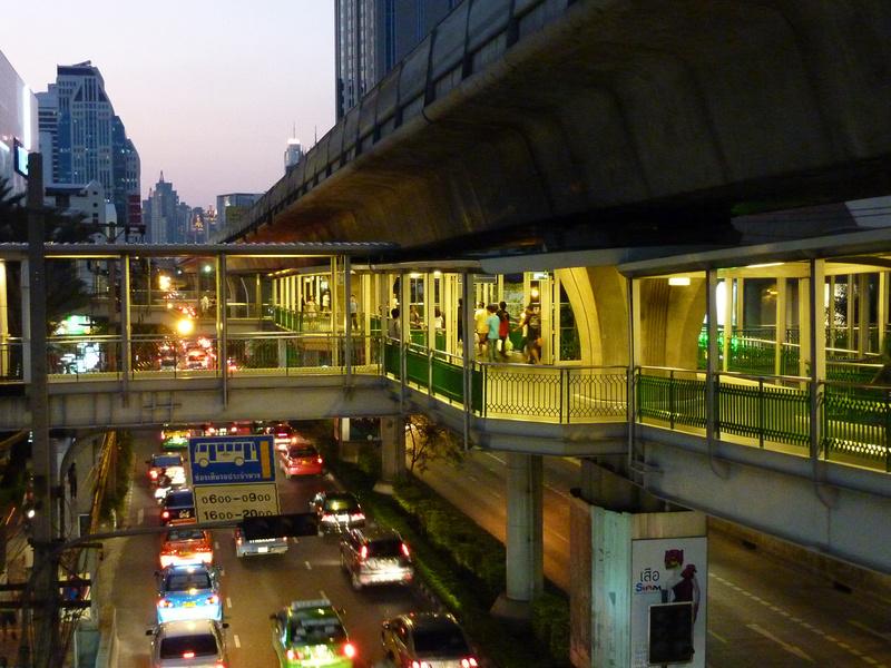 Asok BTS Walkway - Bangkok