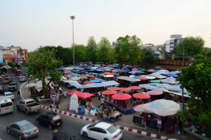 Sunday night market - Chiang Mai