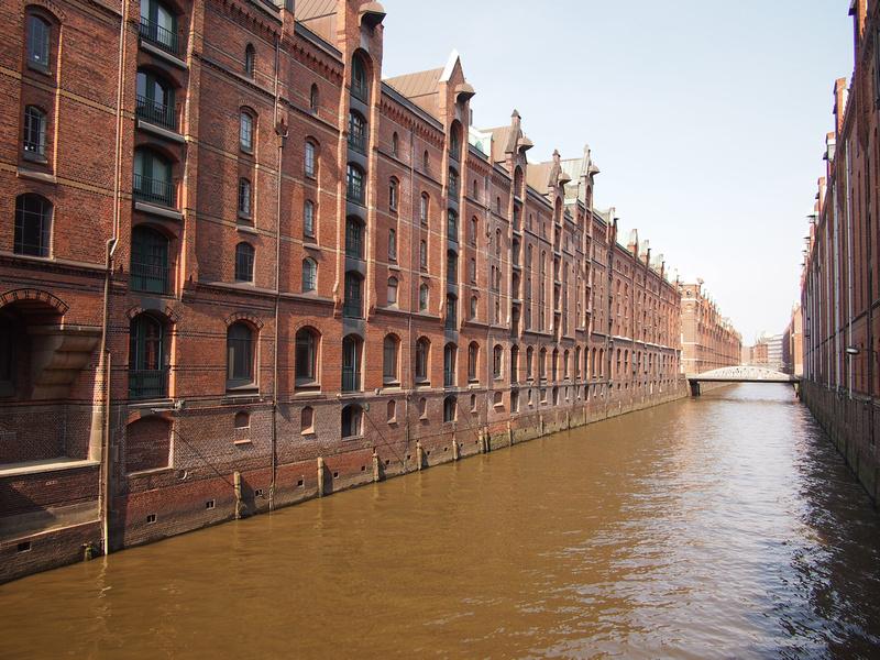 The Speicherstadt, Hamburg - Germany