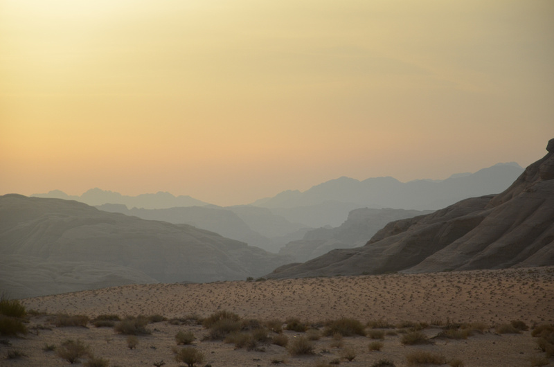 Wadi Rum dusk