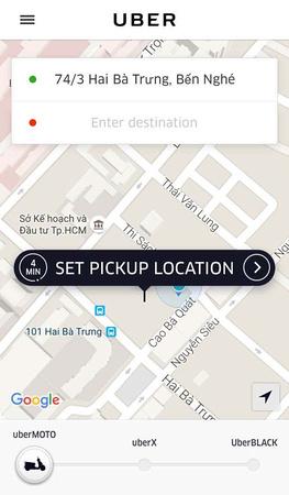Uber options