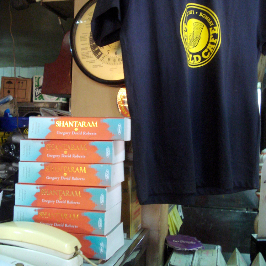 Shantaram on sale at Leopold Cafe