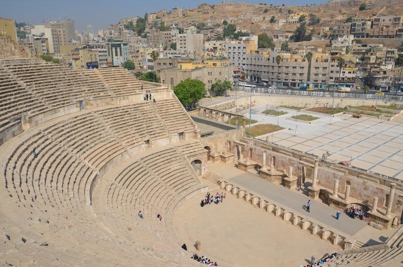 Roman theatre, Amman - Jordan