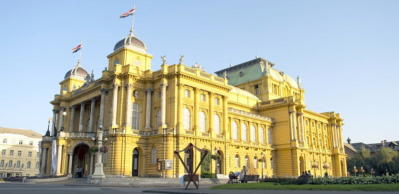 Zagreb National Theater, Croatia