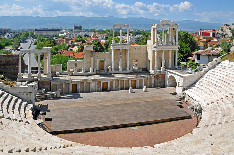 Plovdiv ancient theatre