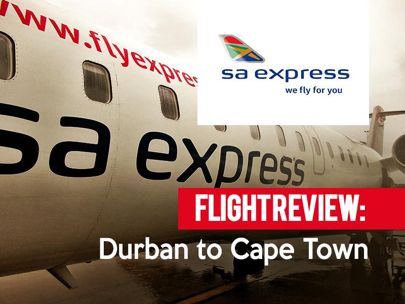 Flight Review: SA Express - Durban to Cape Town