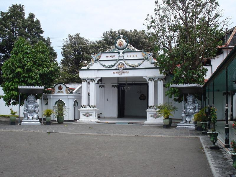 Kraton Entrance: Yogyakarta - Java