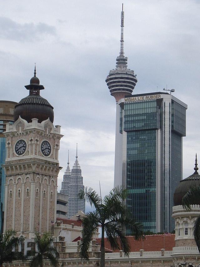 Iconic buildings of Kuala Lumpur