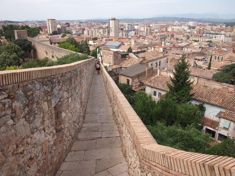 Girona old wall