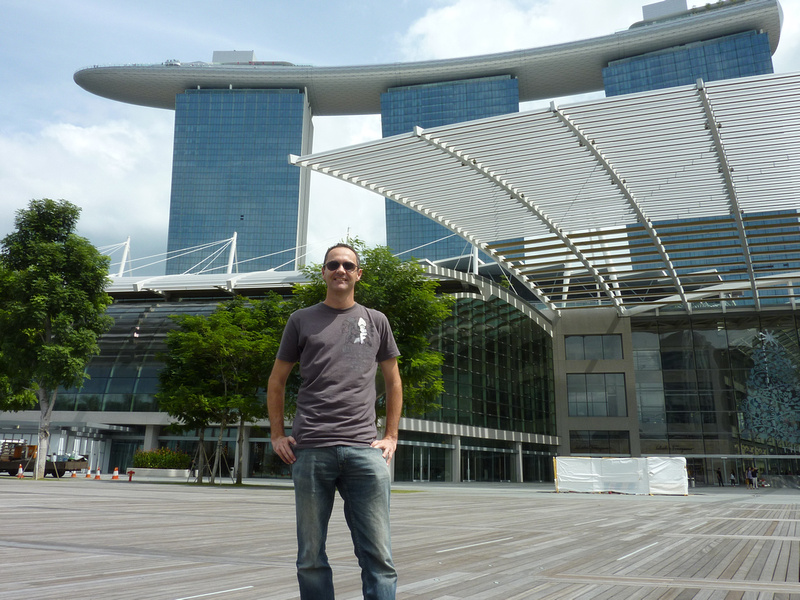 James Clark at Marina Bay Sands