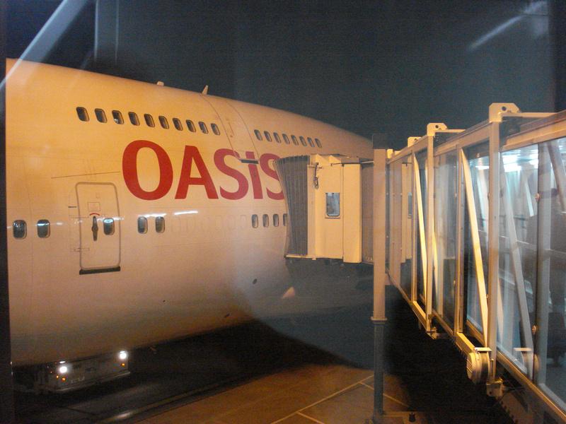 Oasis Hong Kong at Gatwick