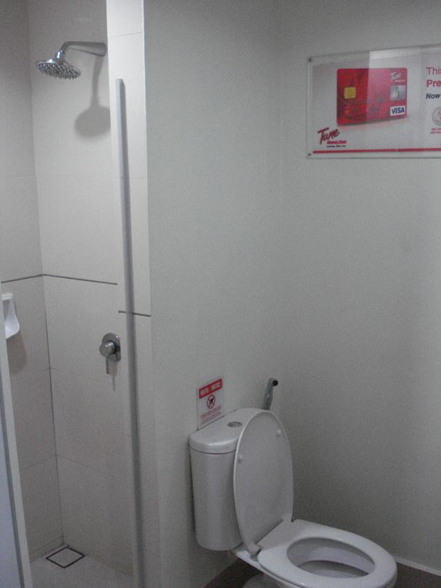 Tune Hotel Bathroom