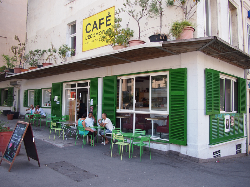 Cafe in Marseille
