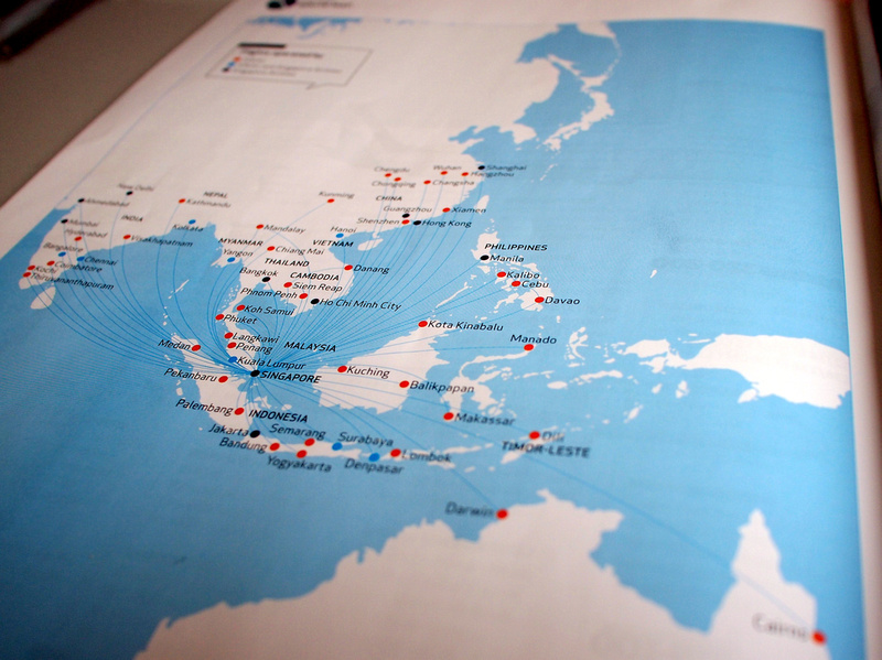 SilkAir routes