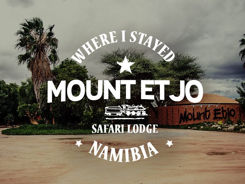 Mount Etjo Safari Lodge, Namibia