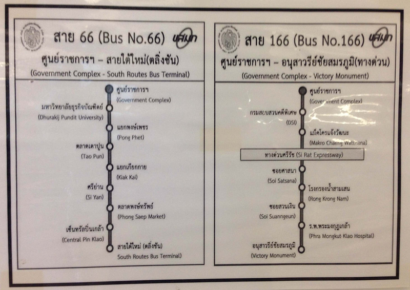 Bus routes to Government Complex
