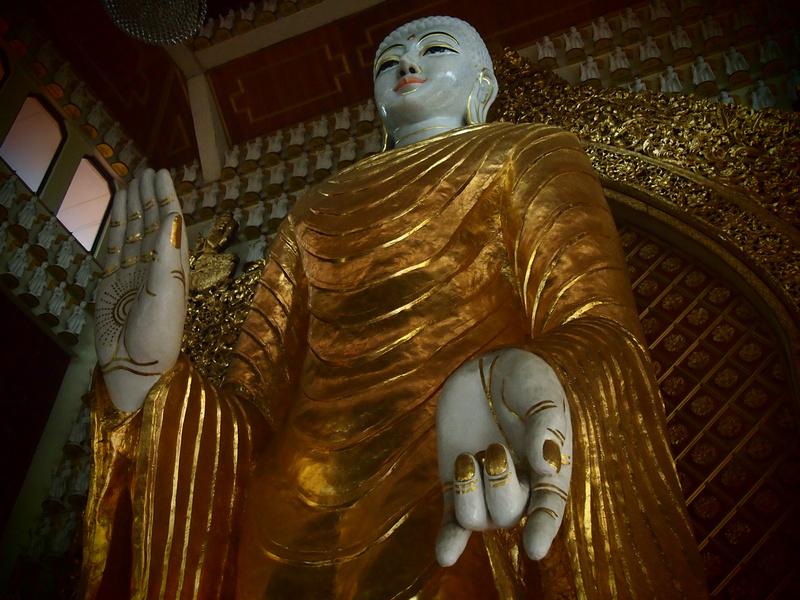 Burmese Buddhist Temple - Penang
