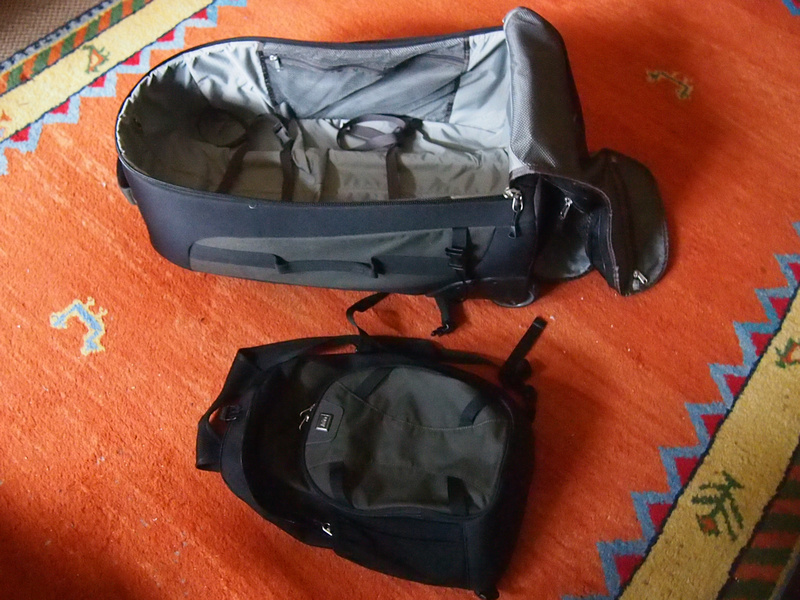 Backpack and daypack
