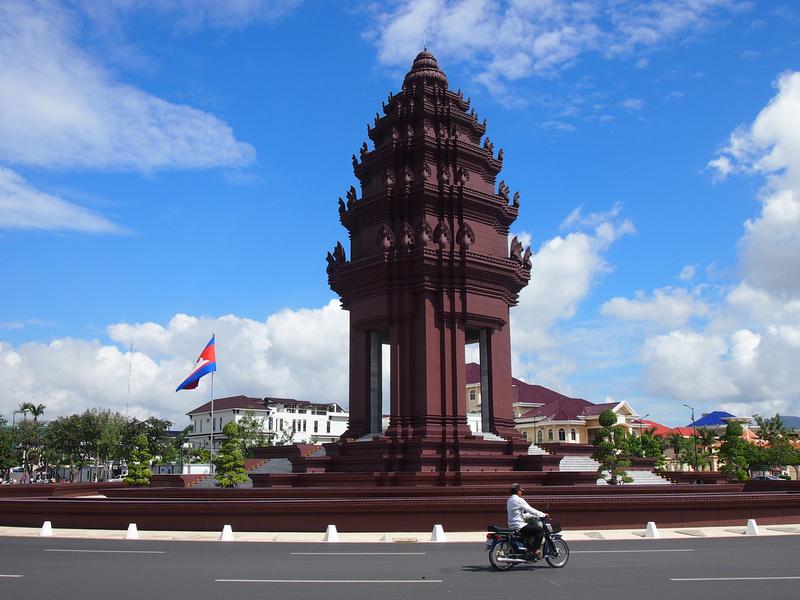 Independence Monument, Phnom Penh - Cambodia