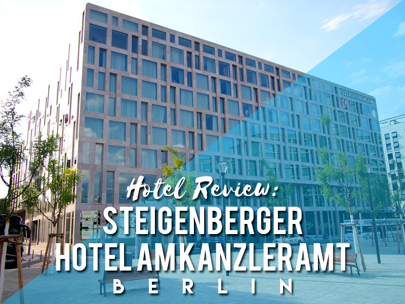 Hotel Review: Steigenberger Hotel Am Kanzleramt, Berlin