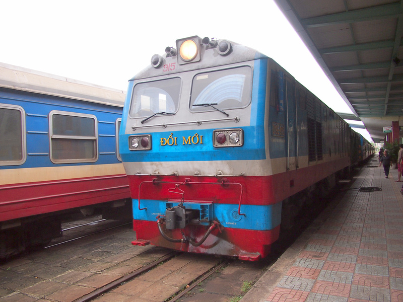 Train at Nha Trang