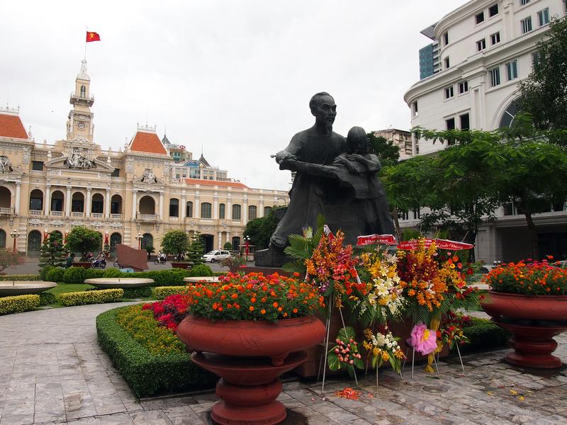 Ho Chi Minh statue: Ho Chi Minh City
