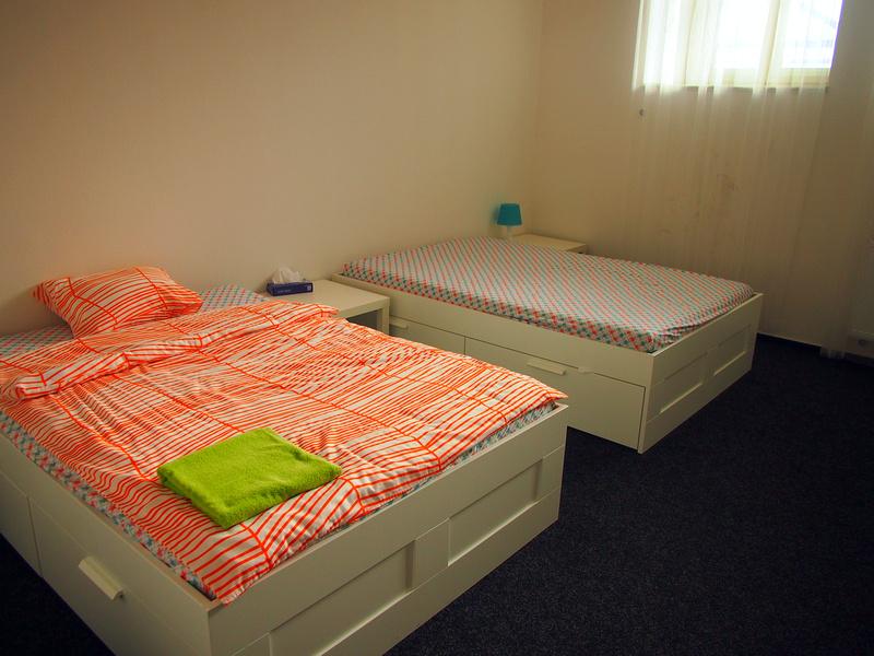 Airbnb Prague bed