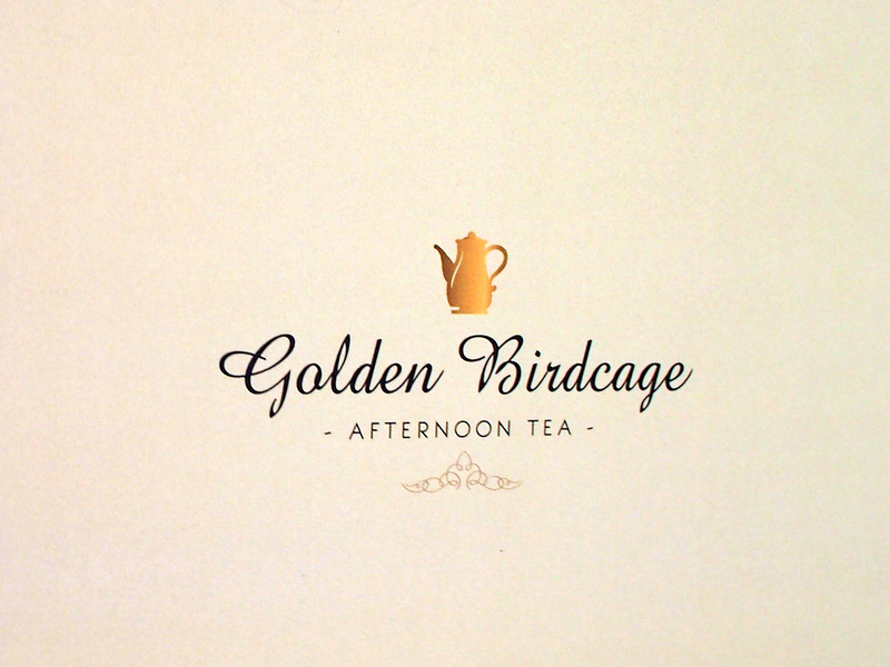 Shangri-La Hotel - Golden Birdcage afternoon tea
