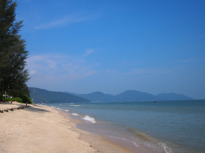 Beach at Shangri-La