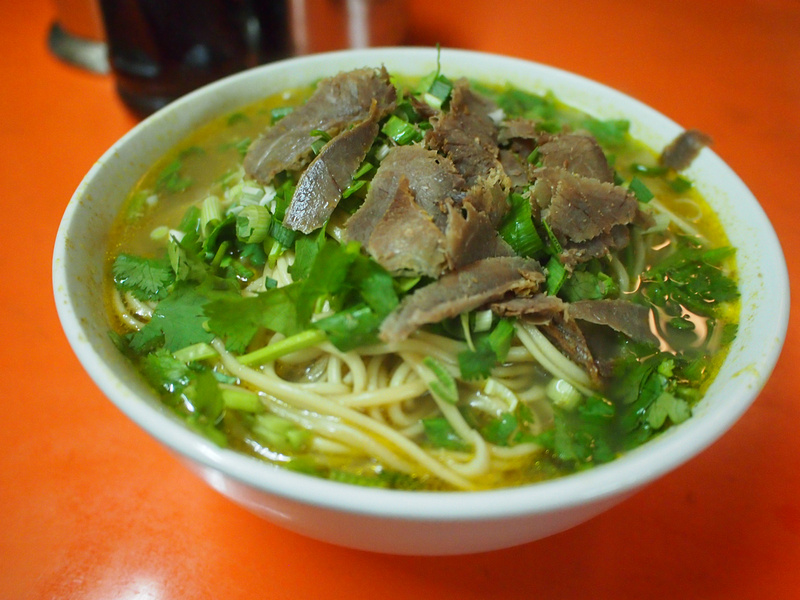Beef noodles - Shanghai