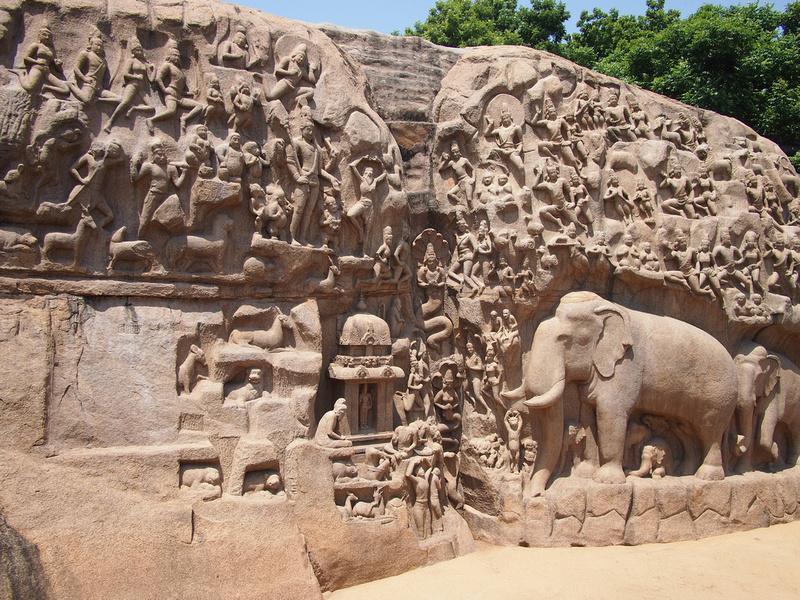Arjuna's Penance - Mamallapuram