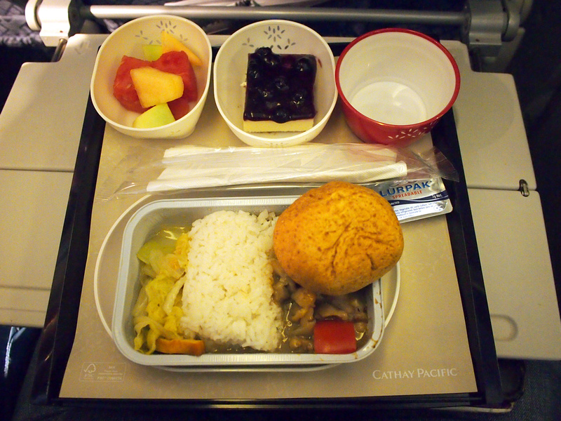 Cathay Pacific - Dinner